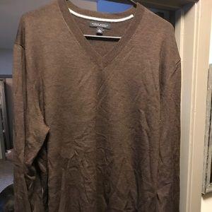 XL merino wool brown sweater by Banana Republic